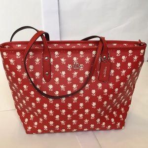 Coach zip bag
